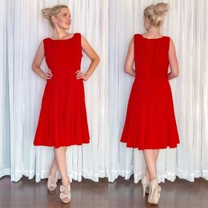 Plus Size Red Dress Calvin Klein
